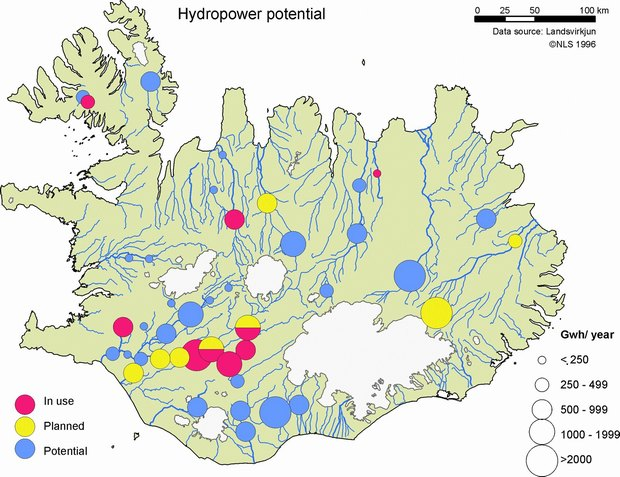 Iceland´s possible geothermal and hydro-power energy fields - Nordregio