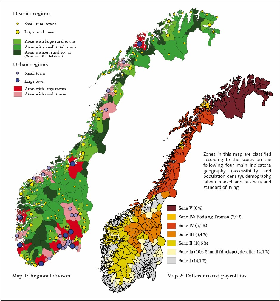 Official Definitions Of Nordic Rural Areas*